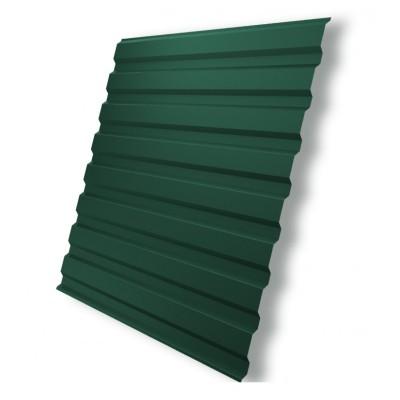 Профнастил С- 8 зеленый мох RAL 6005 1200х1500 мм