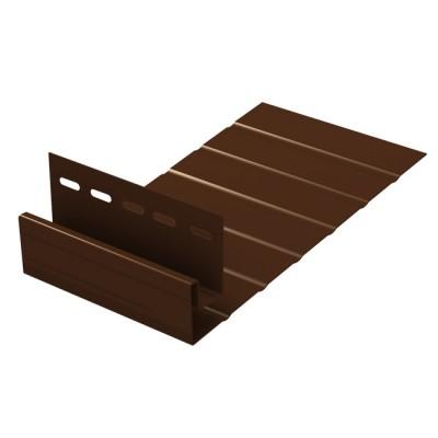 """J-Фаска """"Ю-Пласт"""" коричневый длина 3,05м"""