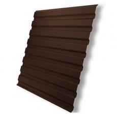 Профнастил  С- 8 шоколад RAL 8017 1150х1500 мм