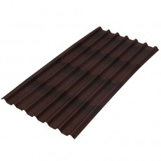 Ондулин Черепица Лист коричневый 3х960х1950мм /300