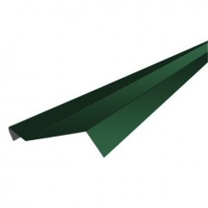 """Планка примыкания """"SHINGLAS"""" РЕ 15х70х15х2000мм Зелёный"""