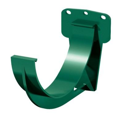 Кронштейн желоба водосточного ТН ПВХ, зеленый