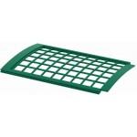 Решетка желоба водосточного ПВХ (защитная) 0,6 м зеленый ТН