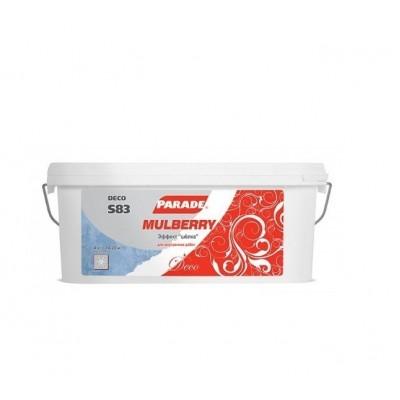 Декоративное покрытие с эффектом шелка PARADE DECO Mulberry S83 4 кг