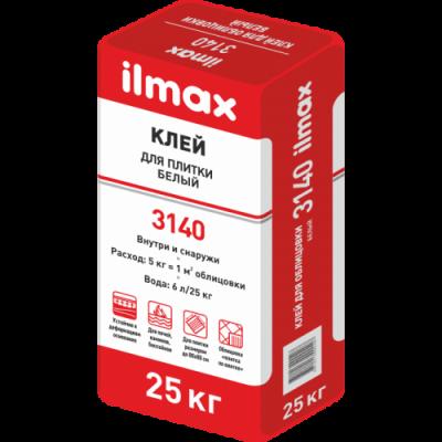Клей плиточный белый Илмакс 3140 25 кг