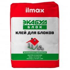 Клей для укладки блоков Илмакс Экабуд Блок (20кг) /48