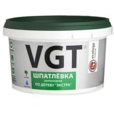 """Шпатлевка """"Экстра""""  ВГТ  по дереву """"Белая"""" 0,3 кг"""