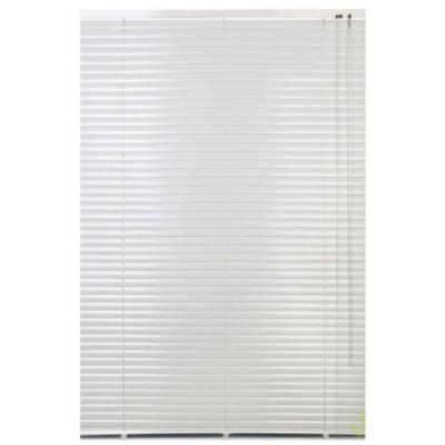 130x160 см Жалюзи горизонтальные алюминиевые белые