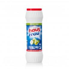 Чистящий порошок Haus Frau универсальный с ароматом яблока 400г