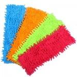 Насадка -салфетка для швабры из микрофибры VETTA, 30х40см, 4 цвета, 3708