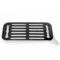 Подставка для посуды с режимом слива воды SM-KT003/WT (белый)