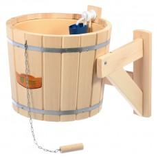 Русский душ на 16 литров (обливное устройство с пластиковой вставкой и наливным клапаном)
