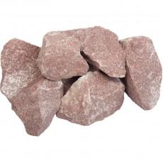 """Камень """"Кварцит"""" малиновый, колотый """"Банные штучки"""""""