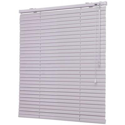 110x160 см Жалюзи горизонтальные алюминиевые белые