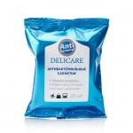 Влажные салфетки Delicare антибактериальные 20шт.