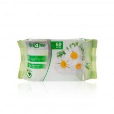 Влажные салфетки антибактериальные Spa 4 Me Ромашка 60шт