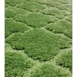 Коврик в ванну ЛАНА 120х70 из микрофибры зеленый GR217