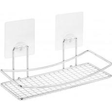 """Полка-решетка для ванной настенная на силиконовом креплении """"Kleber Lite"""" KLE-LT032"""