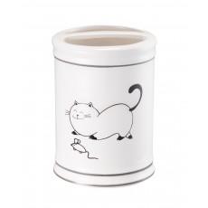 Стакан настольный, керамика, Happy Cats