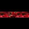 Кухонный фартук ХДФ Цветы (1234165) 610*2030*3,2 мм