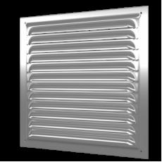 2525МЦ, Решетка вентиляционная вытяжная стальная с оцинкованным покрытием 250х250